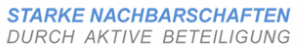 Logo Starke Nachbarschaften